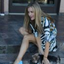 Joanna Krupa With Her Dogs out in Los Angeles - 454 x 624