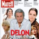 Alain Delon - Paris Match Magazine Cover [France] (April 2011)