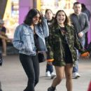 Vanessa Hudgens – Outside Universal Studios for Halloween Horror Nights in LA