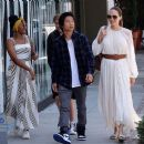 Angelina Jolie goes out to lunch with her kids in Los Angeles (September 02, 2019)