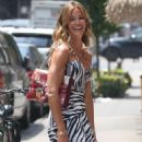 Kelly Bensimon in Summer Dress – Out in New York - 454 x 630