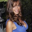 Rebecca Loos - Candids While Arriving At Tatler's Summer Party - June 26 2008