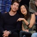 Maggie Q and Dylan McDermott - 454 x 363