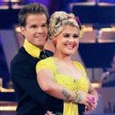 Louis van Amstel and Kelly Osbourne