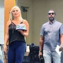 Brooke Hogan at Ralphs in Studio City - 454 x 568