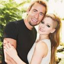 Avril and Chad announcing engagement - September 2012
