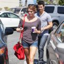 Ashley Greene and Joe Jonas Out and About