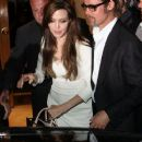 Angelina Jolie and Brad Pitt head out for dinner at Tetou restaurant on Sunday (May 15) in Golfe Juan, France