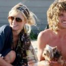 Tyler Atkins and Paris Hilton
