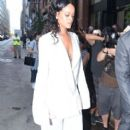 Rihanna is seen arriving at the Edun Fashion Show during New York Fashion Week in New York City, New York on September 7, 2014