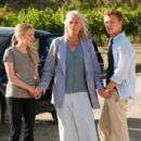 (L to R) AMANDA SEYFRIED, VANESSA REDGRAVE and CHRISTOPHER EGAN star in LETTERS TO JULIET. Photo: John P. Johnson. Copyright © 2009 Summit Entertainment LLC. - 454 x 303