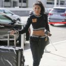 Chantel Jeffries at LAX International Airport in Los Angeles