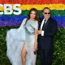 Thalia  and Tommy Mottola- 73rd Annual Tony Awards - Red Carpet - 454 x 619