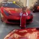 Blac Chyna Celebrates King Cairo's 4th Birthday at Her Home in Tarzana, California - October 15, 2016 - 454 x 456