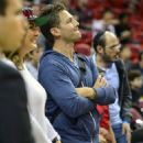 Juan Pablo Galavis attends a Miami Heat basketball game with friends on December 17, 2014 in Miami, Florida - 454 x 581