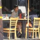 Chantel Jeffries – Grabs lunch with a friend in Hollywood