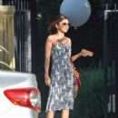 Sarah Hyland – Seen leaving Jesse Tyler Ferguson's baby shower in LA
