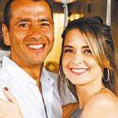 Cláudia Abreu and Marcos Palmeira