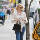January Jones: out and about in New York City