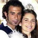 Marcos Pasquim and Cláudia Abreu