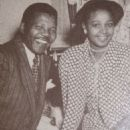 Nelson Mandela and Evelyn Ntoko Mase