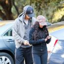 Vanessa Hudgens: during her nature hike in Los Angeles