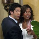 David Schwimmer and Aisha Tyler