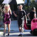 Emmy Rossum – Filming as the iconic 'Angelyne' in Los Angeles