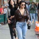 Kourtney Kardashian – Seen out in New York - 454 x 681