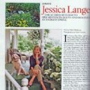 Jessica Lange - Architectural Digest Magazine Pictorial [United States] (March 2006) - 454 x 523