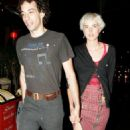 Agyness Deyn and albert hammond jr