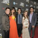 "Crystal Reed: at the premiere of MTV's ""Teen Wolf"" in Los Angeles"