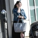 Michelle Trachtenberg Out and About in Los Angeles 07/13/2015