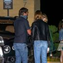 Cara Delevingne, Cindy Crawford and Kaia Gerber – Out for a dinner at Nobu in Malibu