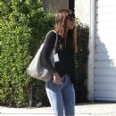 Jessica Biel out in Studio City