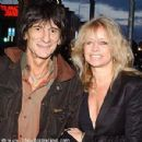 Ron Wood and Jo Wood
