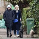 Emma Corrin – Enjoy a stroll in Belsize Park in North London - 454 x 447