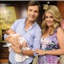 John Jovanovic and Daphne Oz and Baby makes Three - 454 x 453