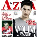 Çagatay Ulusoy - Azra Magazine Cover [Bosnia and Herzegovina] (23 October 2013)