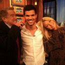 Taylor Lautner On Regis & Kelly Show