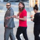 Dave Grohl is seen at 'Jimmy Kimmel Live' in Los Angeles, California - 432 x 600