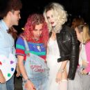 Bella Thorne – Arrives to Halloween party in Los Angeles - 454 x 482