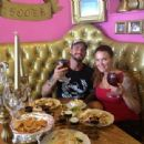 CM Punk and Lita Out Together at a Restaurant - 454 x 340