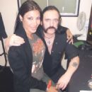 Jasmin St. Claire and Lemmy Kilmister