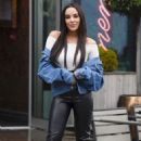 Stephanie Davis – Leaves Menagerie in Manchester - 454 x 728