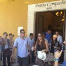 Sofia Vergara during her visit to Campeche, Mexico (July 6)