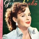 Jean Peters - Geino Gaho Magazine Pictorial [Japan] (December 1953) - 454 x 656