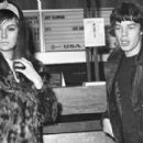 Mick Jagger and Chrissie Shrimpton - 454 x 274