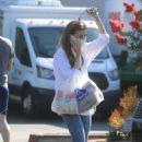 Lily Collins – Out and about in Los Angeles