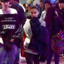 Ariana Grande with friends at Disneyland in Anaheim